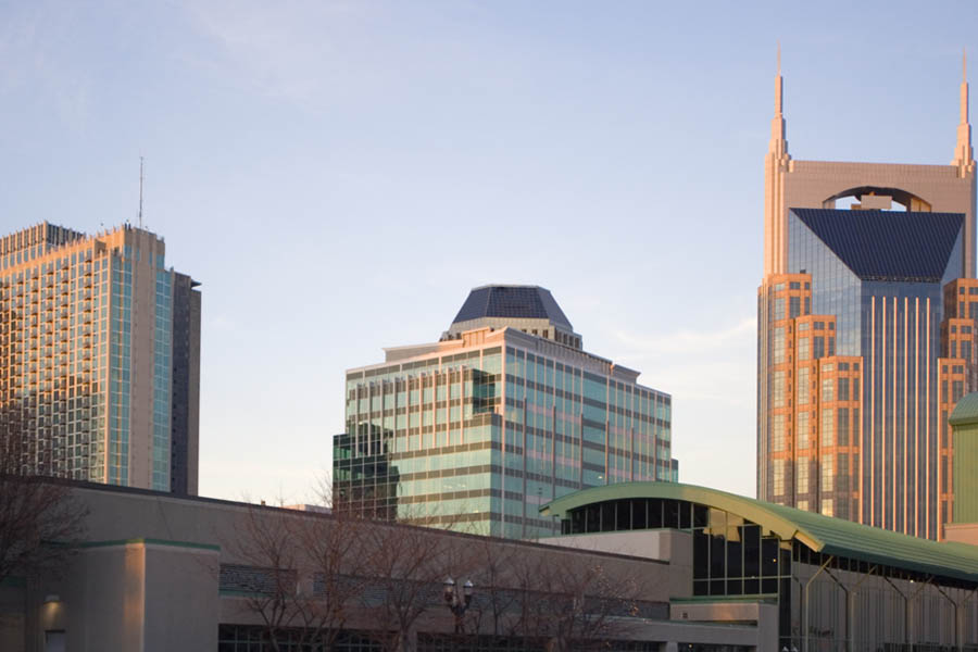 Homepage - Business Insurance Nashville Skyline