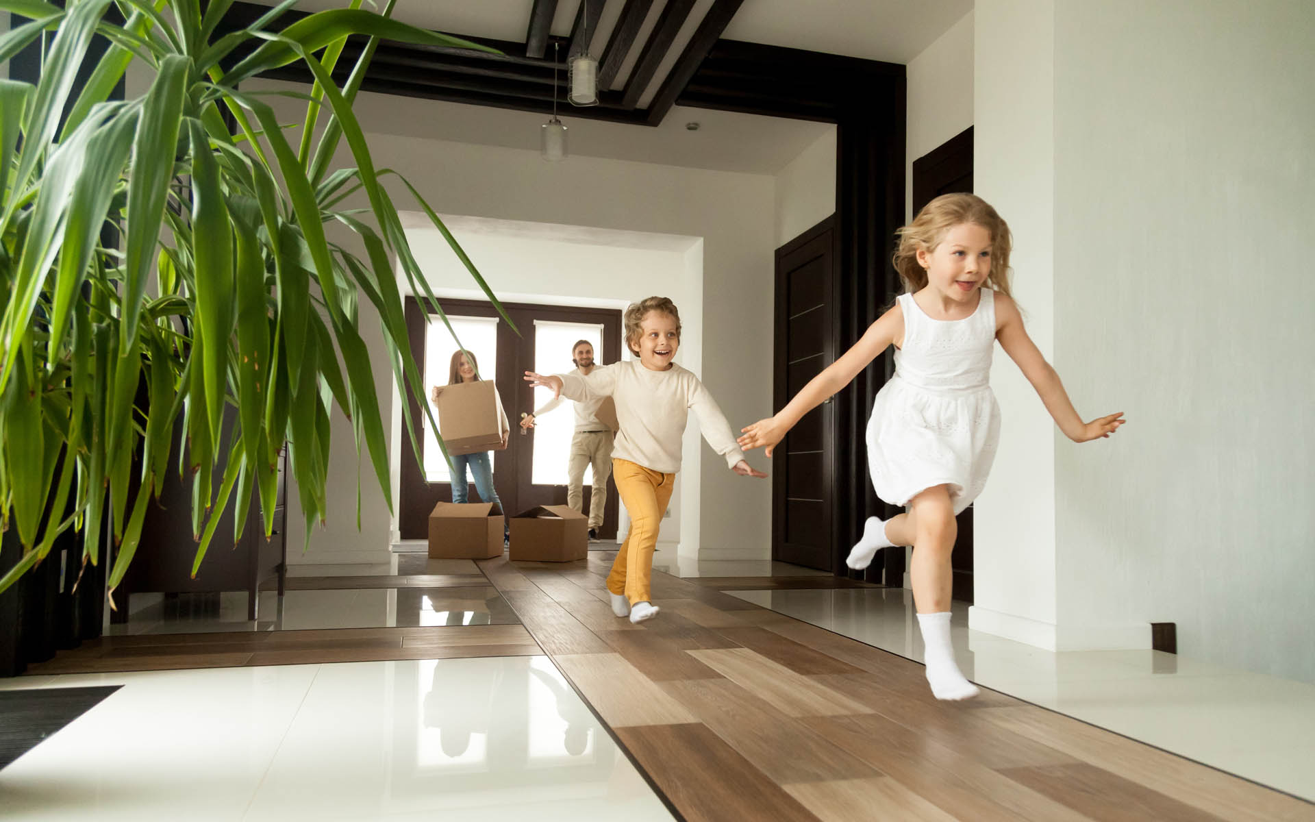 Homepage - Personal Insurance Family Home